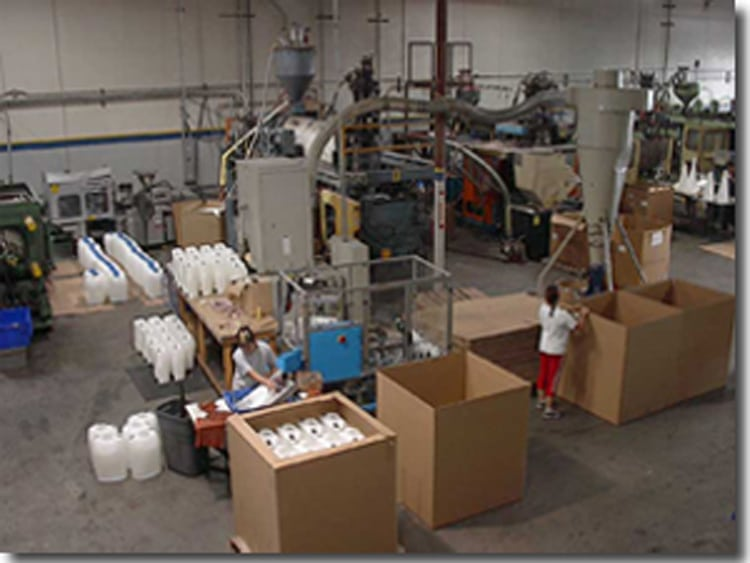 blow molded products facilities