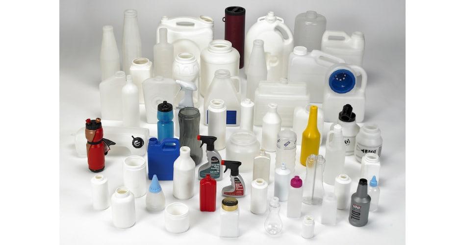 custom blow molded plastic bottles