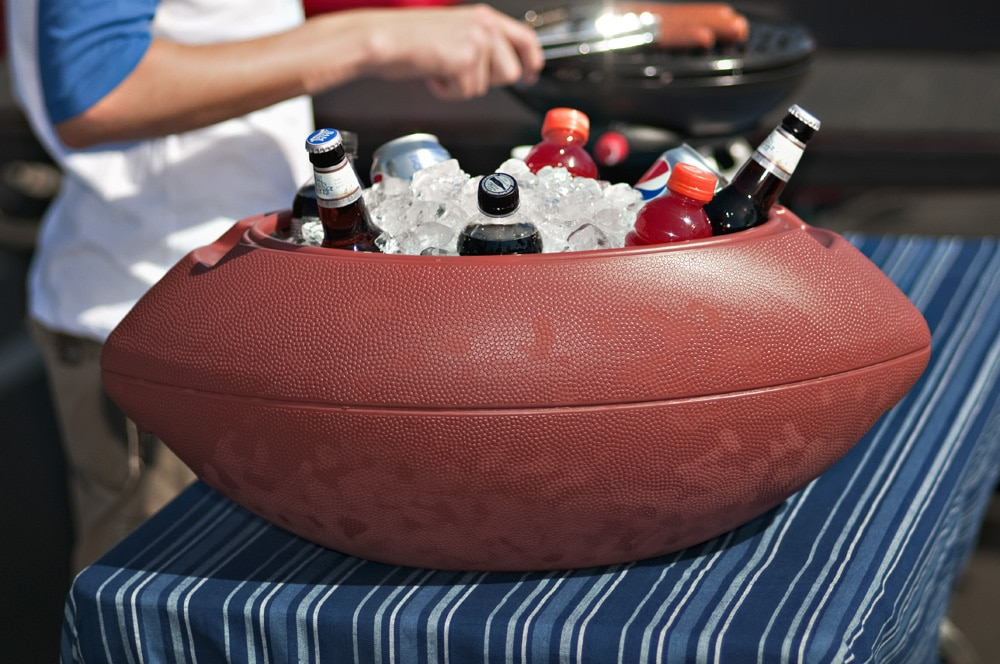 waterproof football chest