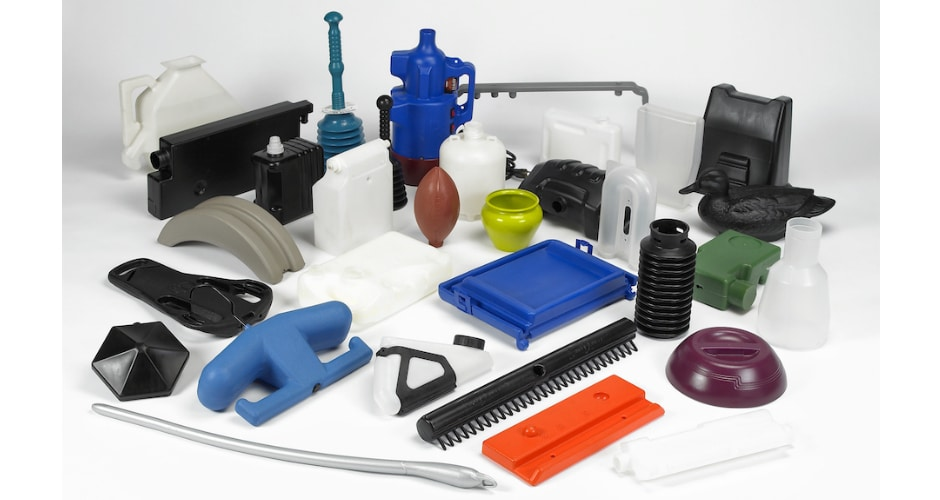 medium sized custom blow molded plastic products